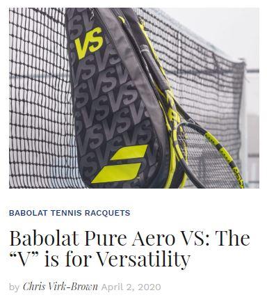 Babolat Pure Aero VS Racquet Review blog