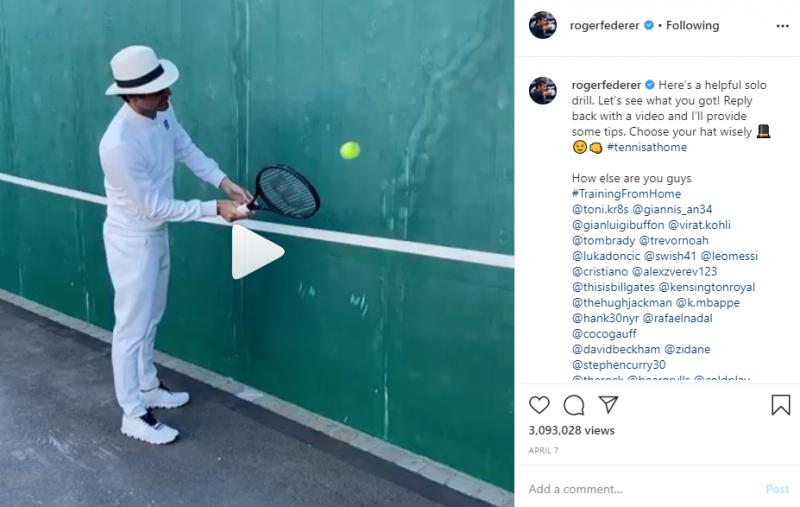 Federer Wall Challenge